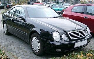 CLK-sarja C208 06.1997-02.2003