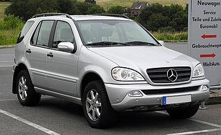 ML-sarja W163 02.1998-07.2005