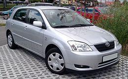 Corolla (E12) 01.2002-05.2004