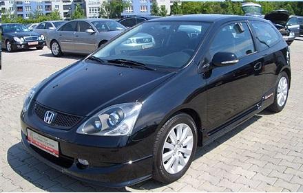 Civic 3/5-D HB (EP/EU/EV) 2001-2005