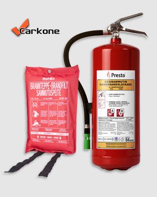 Palonsammutus varusteet