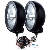CIBIÉ SUPER OSCAR LED -lisäpitkä, Musta 2kpl, Ø 222mm Ref.17,5