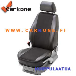 Sprinter, Crafter Pebe Istuisuojien tyylikkäät ja korkealaatuiset tekstiilikankaat eivät veny kovassakaan kulutuksessa. Helposti Carkone verkkokaupasta.